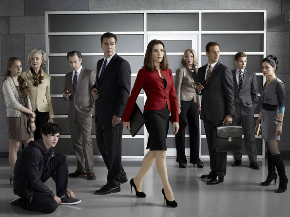 THE GOOD WIFE Season 2 Cast Promo Photos