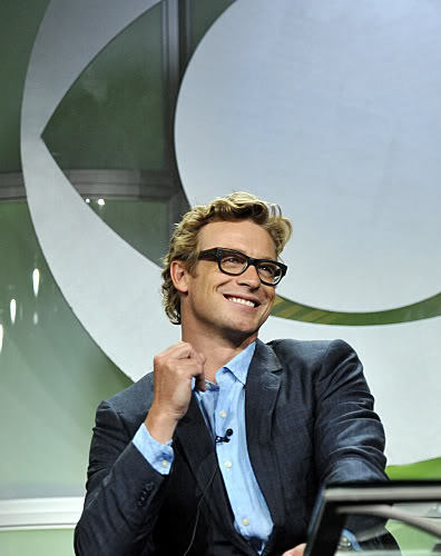 Simon Baker From The Mentalist At The Summer CBS TCA Session
