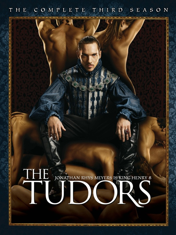 The Tudors Season 3 DVD Cover Art