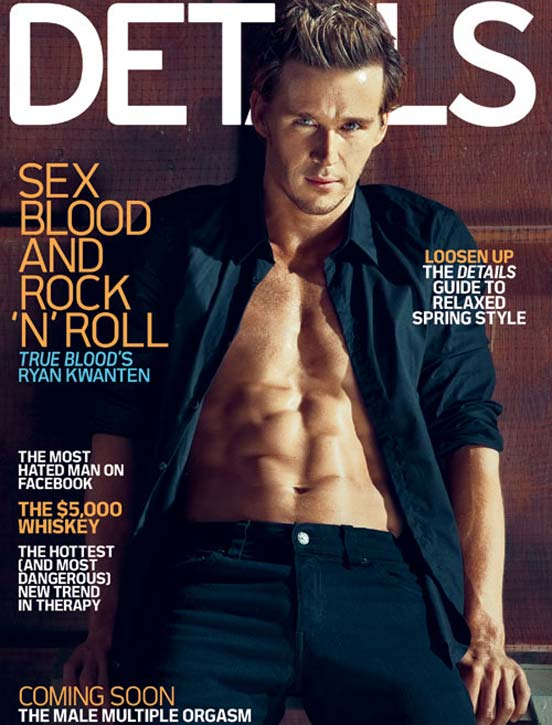 Ryan Kwanten Details True Blood Cover