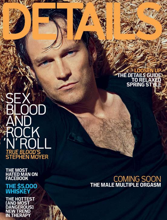 Stephen Moyer Details True Blood Cover