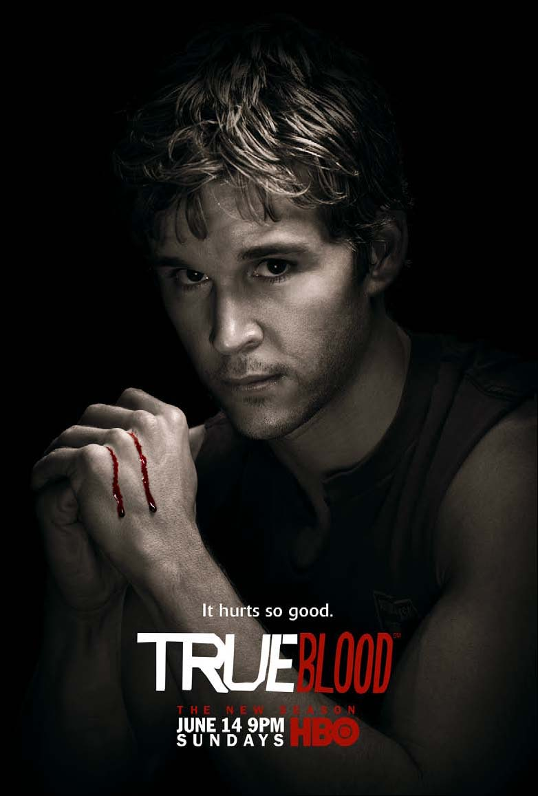 True Blood Season 2 It Hurts So Good Jason Promo Poster