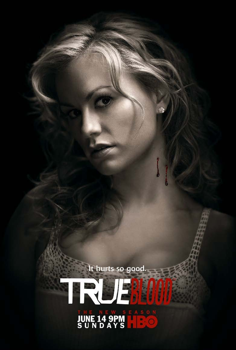 True Blood Season 2 It Hurts So Good Sookie Promo Poster