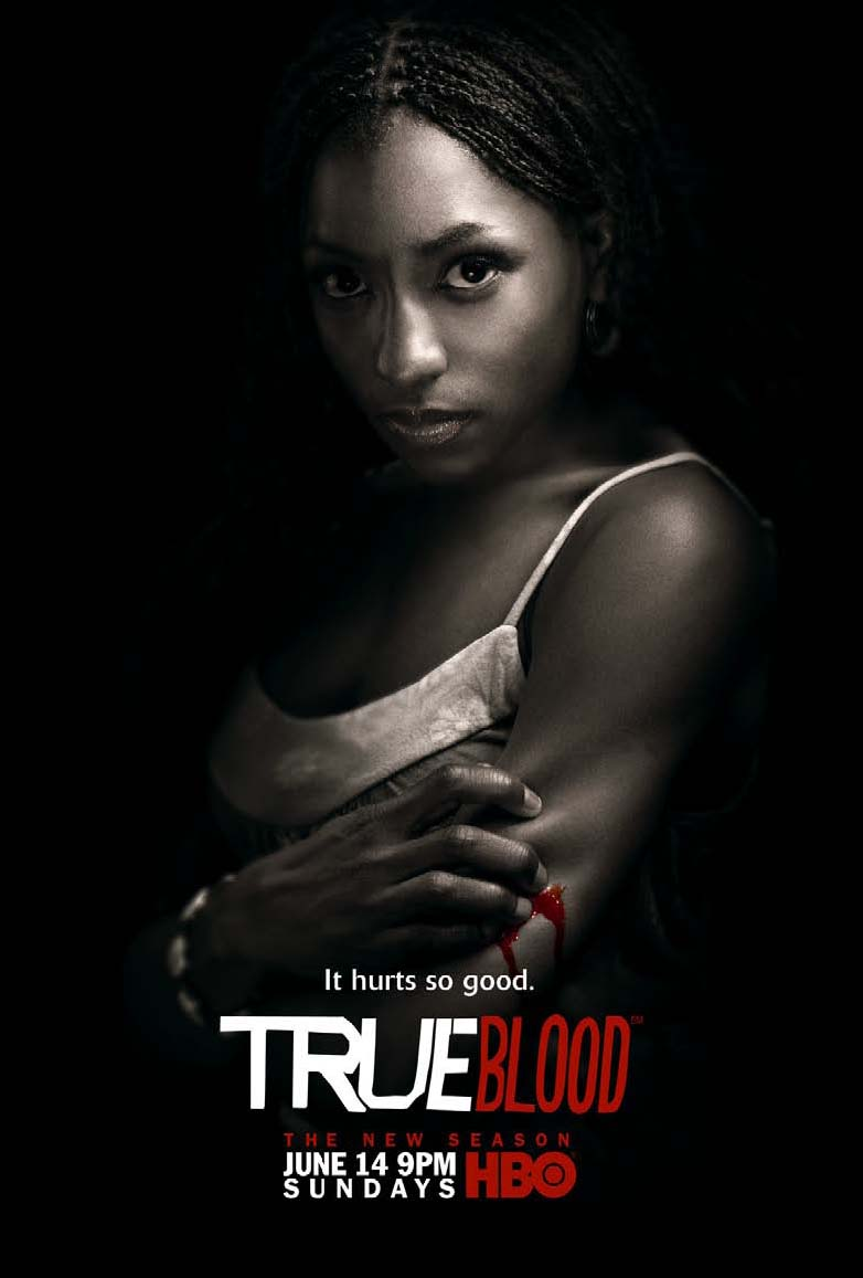 True Blood Season 2 It Hurts So Good Tara Promo Poster