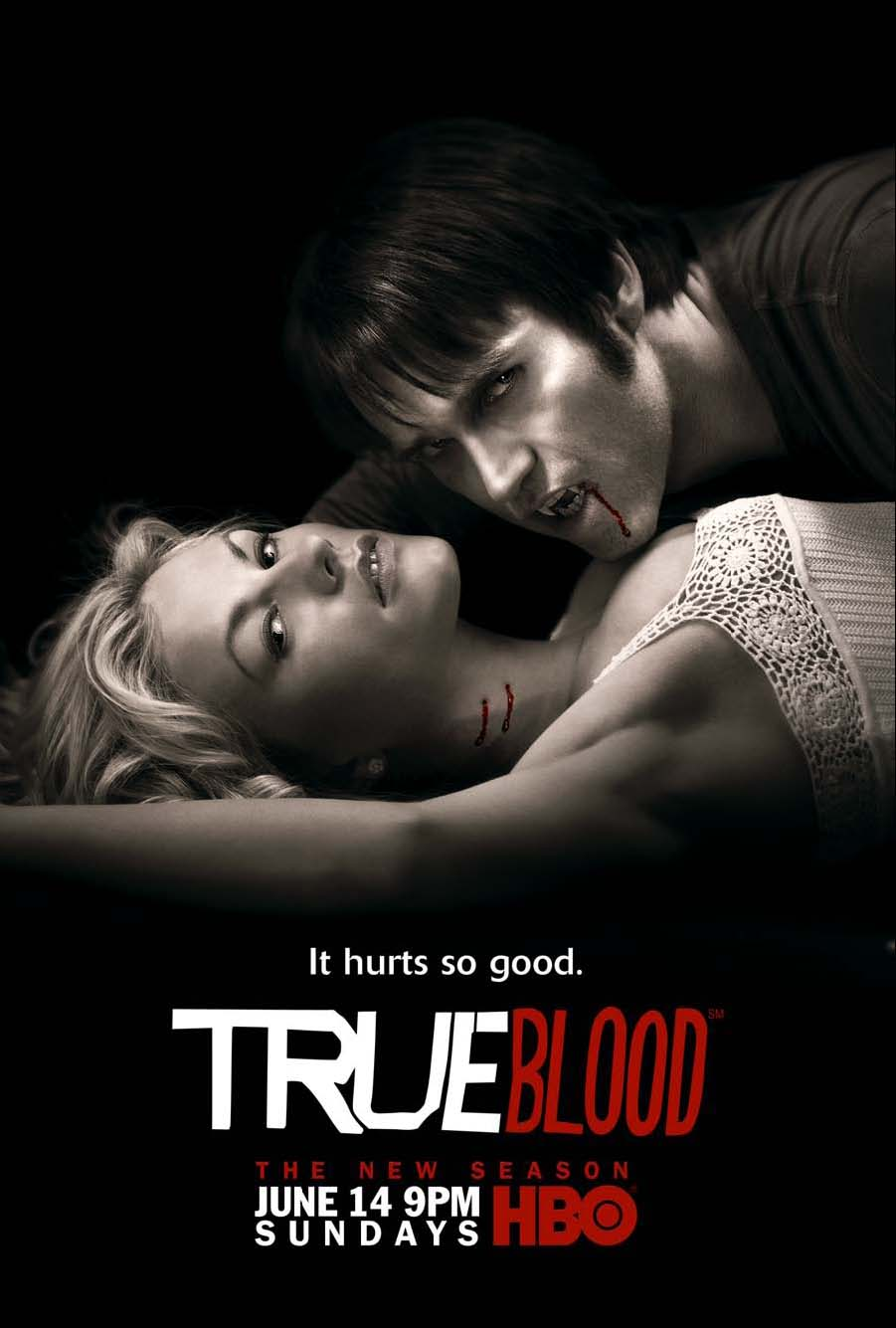 True Blood Season 2 It Hurts So Good Promo Poster