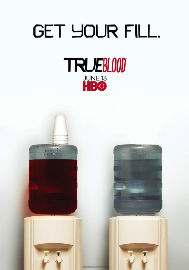 True Blood GET YOUR FILL Poster