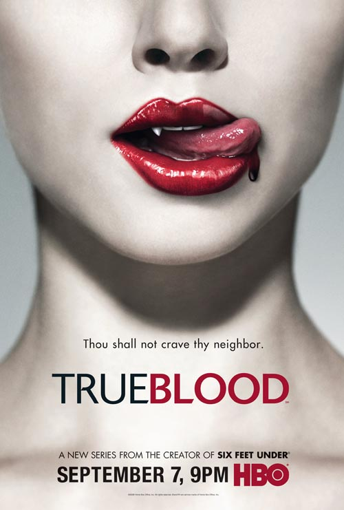 Promo Poster For New HBO Series True Blood