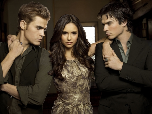 Vampire Diaries Cast Season 2