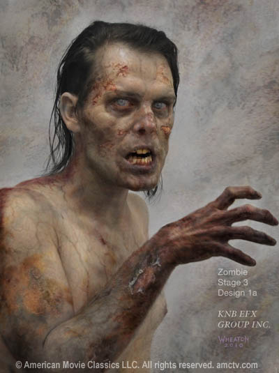 THE WALKING DEAD Zombie Decomposition Photos