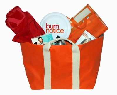 Burn Notice Prize Pack Photo