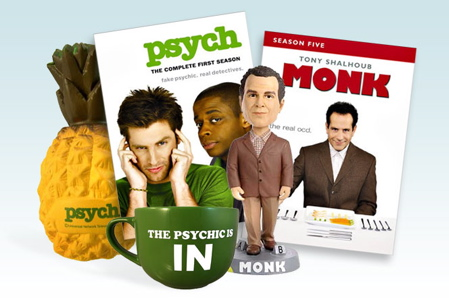 Psych & Monk Prize Pack Contest
