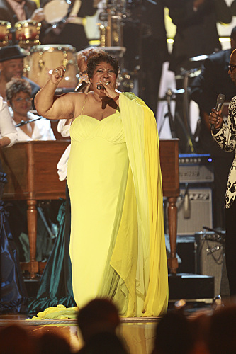 Aretha Franklin Grammy Photo
