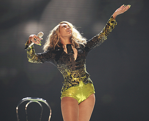 Beyonce Grammy Photo