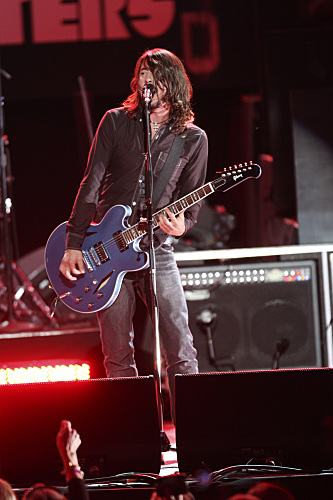 Dave Grohl Grammy Photo