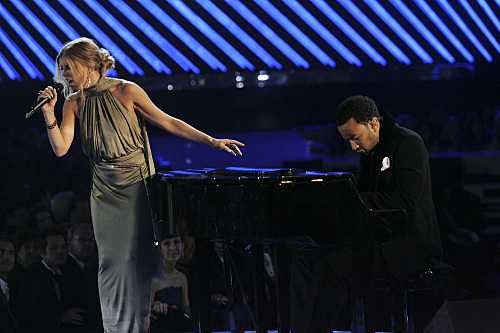 Fergie John Legend Grammy Photo