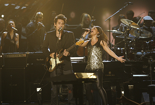 Alicia Keys John Mayer Grammy Picture
