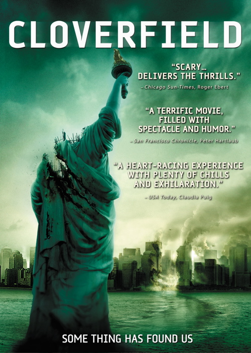 Cloverfield DVD Cover Photo