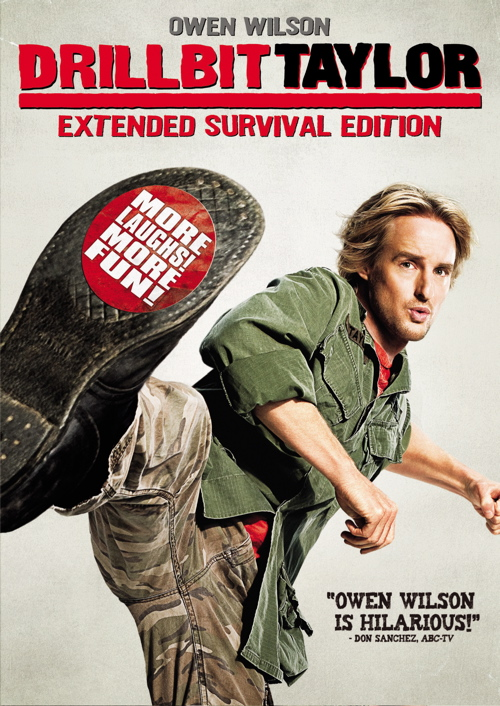 Drillbit Taylor DVD Cover