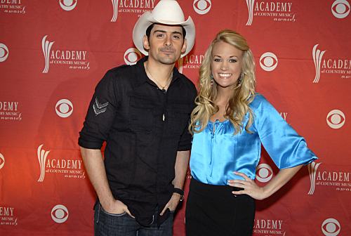Carrie Underwood Brad Paisely Photo
