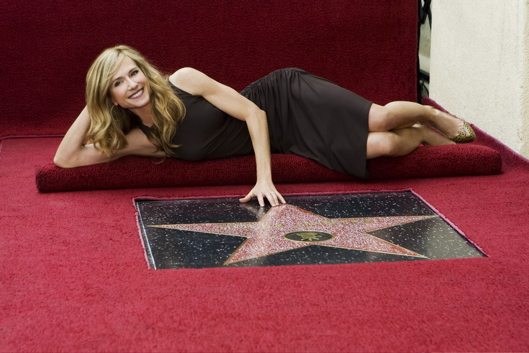 Holly Hunter Walk Of Fame Photo