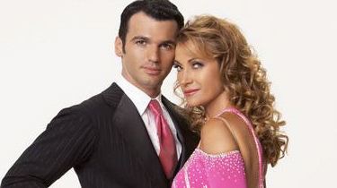 Jane And Tony DWTS Photo