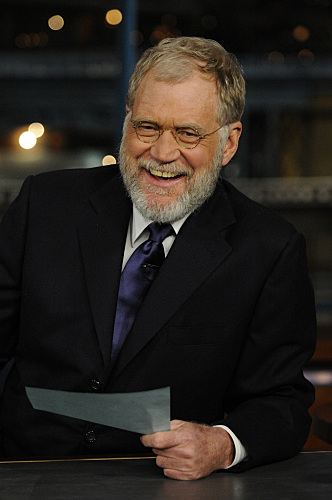 Letterman WGA Photo