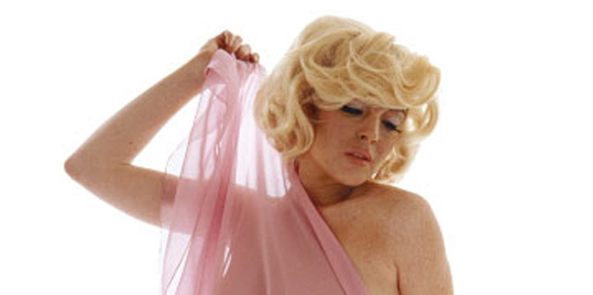 Lindsay Lohan As Marilyn Monroe.