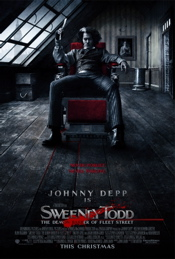 Sweeny Todd Movie Poster