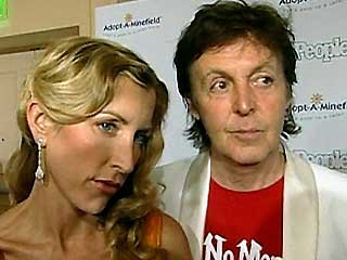 Paul McCartney Heather MIlls Photo