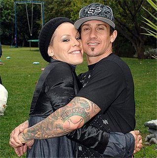 Pink Carey Hart Photo