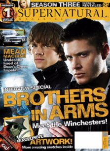 Supernatural Magazine Cover