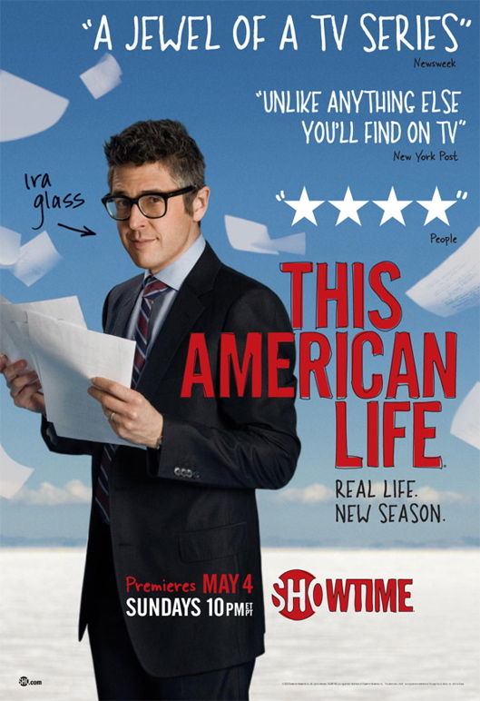 Showtime's This American Life Promo Poster