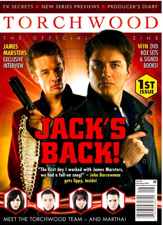 Torchwood Magazine Cover