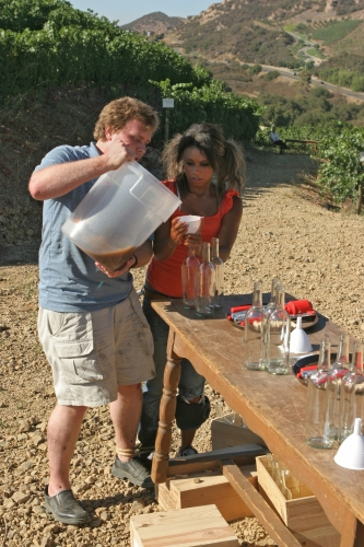 mt_gallery:Beauty And The Geek - Winemaking