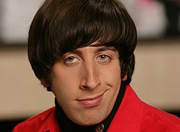 Simon Helberg Big Bang Theory Photo