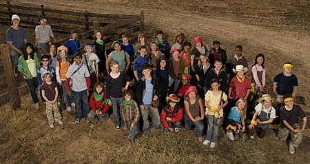 Kid Nation Cast Photo