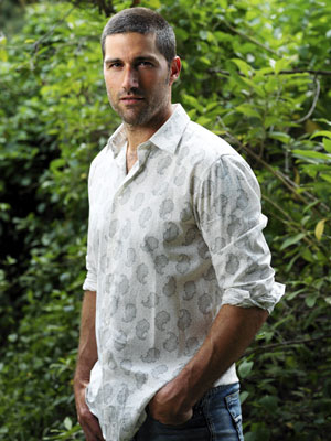 Matthew Fox Lost Photo