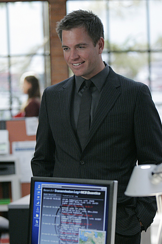 Michael Weatherly As Special Agent Tony DiNozzo On NCIS