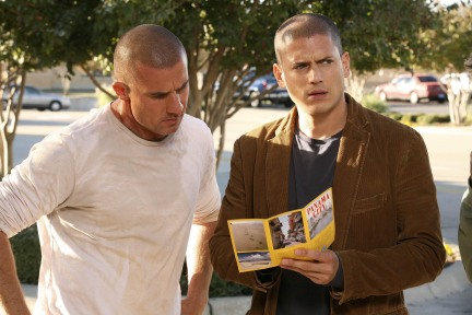Prison Break Dominic Purcell Wentworth Miller Season 3 Photo